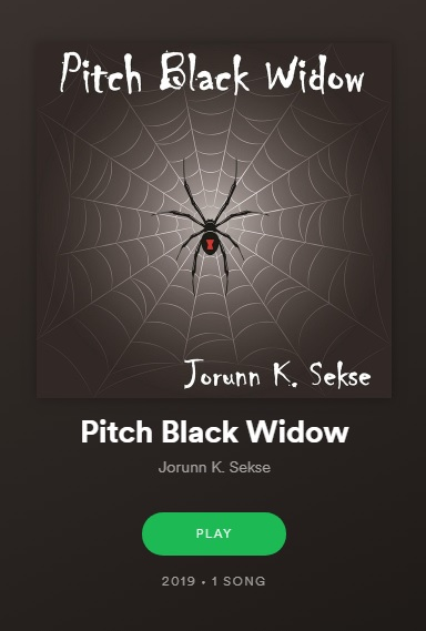 Cover picture of song 'pitch black widow'