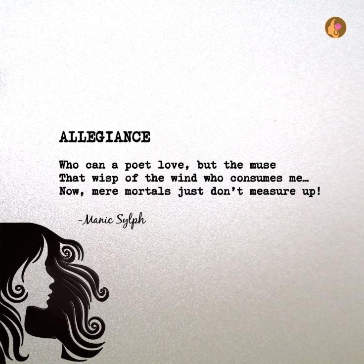 Poem ALLEGIANCE by Mona Soorma aka Manic Sylph