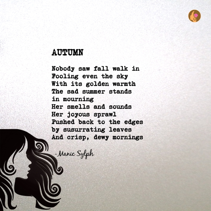 Poem AUTUMN by Mona Soorma aka Manic Sylph