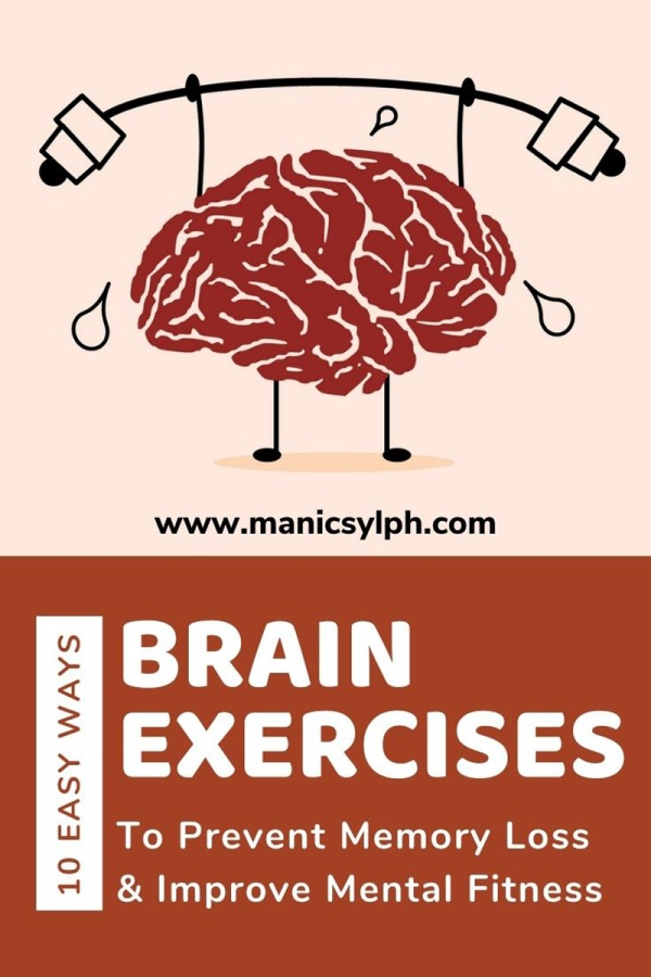Brain Exercises to prevent memory loss and improve mental fitness