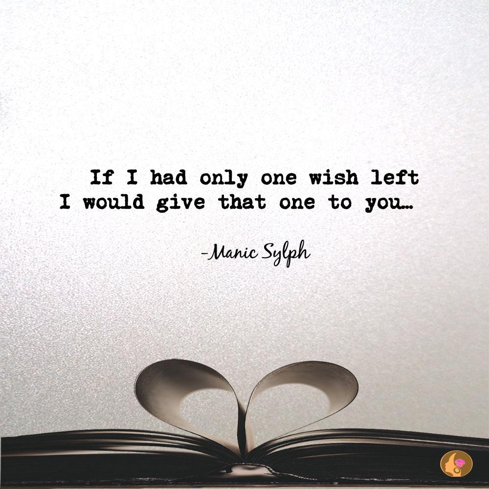 Micro poem WISHING UPON A STAR by Mona Soorma aka Manic Sylph