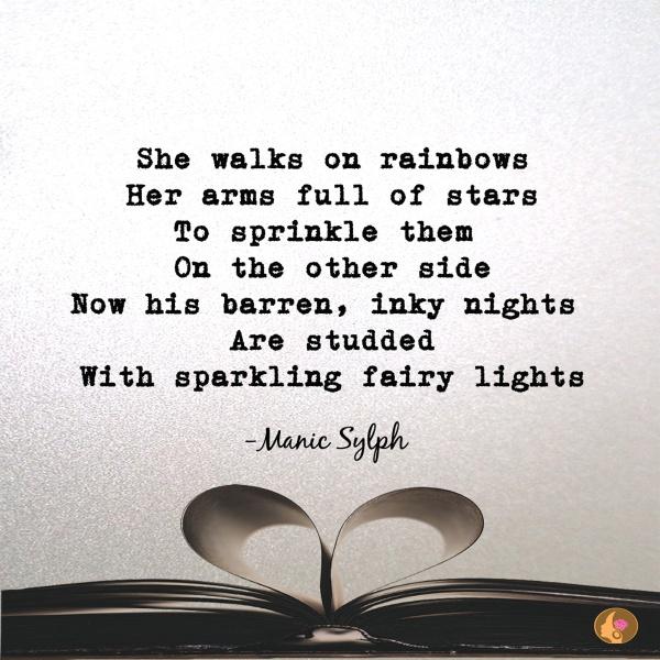 Micro poem 'InkSplash~5' by Mona Soorma aka Manic Sylph