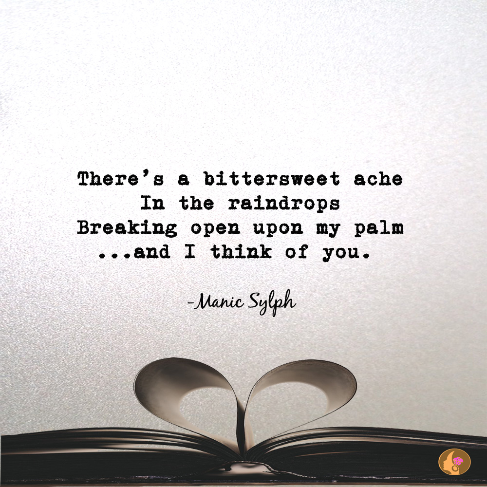 Micro poem 'Raindrops' by Mona Soorma aka Manic Sylph